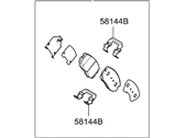 Hyundai Brake Pad Set - 58101-3LA11
