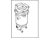 Hyundai Catalytic Converter - 28530-38760