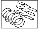 Hyundai Santa Fe Piston Ring Set - 23040-3E001