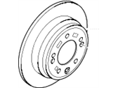 Hyundai Azera Brake Disc - 58411-3V500