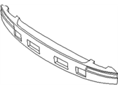 Hyundai 86620-3D000 ABSORBER-REAR BUMPER ENERGY