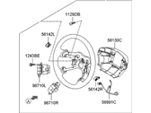 Hyundai Steering Wheel - 56110-3L960-A9