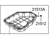 Hyundai Entourage Oil Pan - 21510-3C100