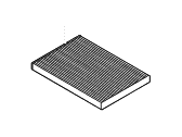 Hyundai Elantra Touring Air Filter - 97133-2L000