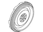 Genuine Hyundai 23200-25210 Mass Flywheel Assembly