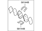 Hyundai Brake Pad Set - 58101-3QA50