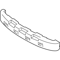 Hyundai 86620-25650 ABSORBER-REAR BUMPER ENERGY