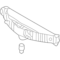 Genuine Hyundai 92700-3X000 High Mount Stop Lamp Assembly
