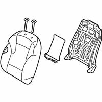 Front Genuine Hyundai 88160-3Q000-Y3A Seat Cushion Covering