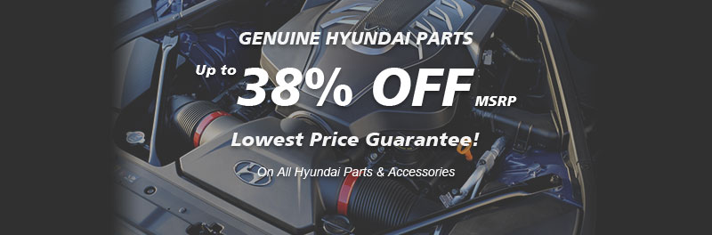 Genuine Genesis parts, Guaranteed low prices